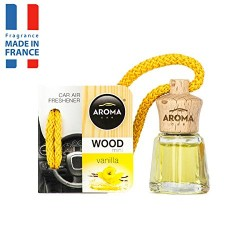 AROMA CAR MINI WOOD WANILIA