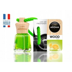 AROMA CAR MINI WOOD LEMON