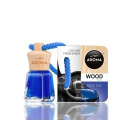 AROMA CAR MINI WOOD NEW CAR...